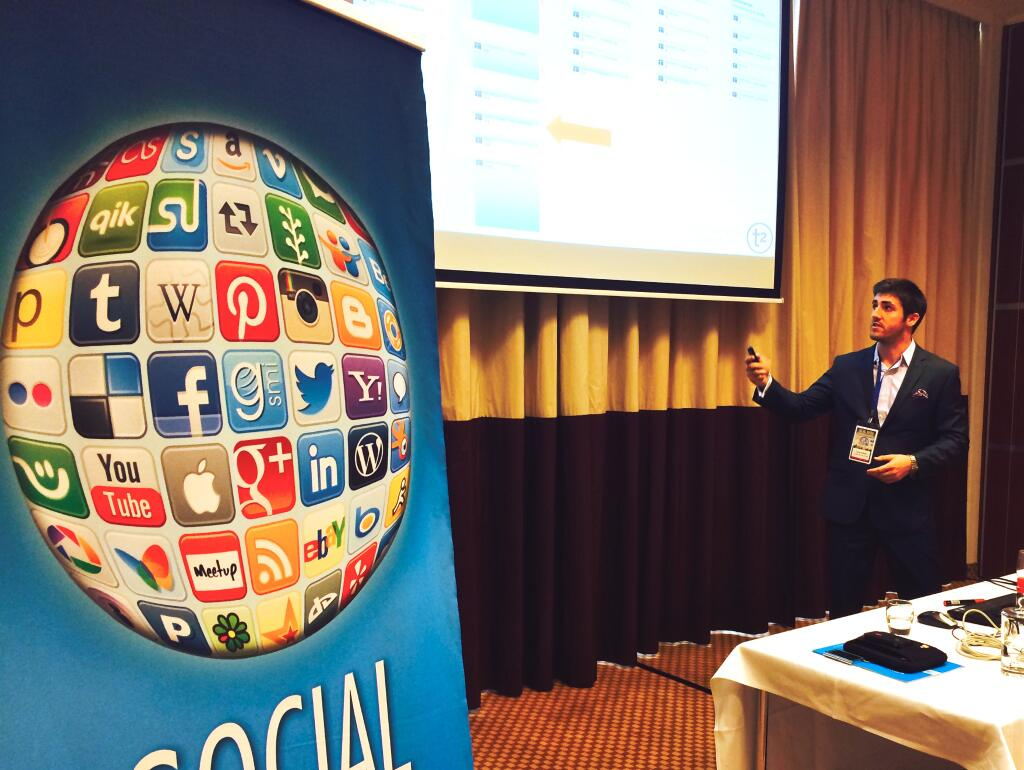 Social Business Trends - Corey Padveen Speaking in Amsterdam