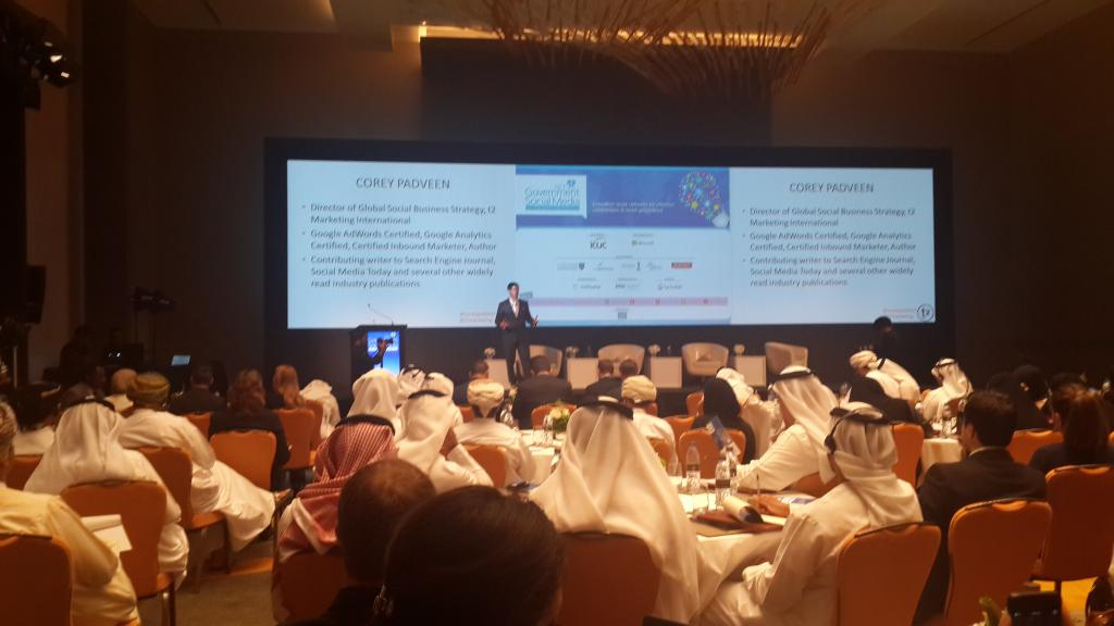 Marketing trends I noted while speaking in Dubai