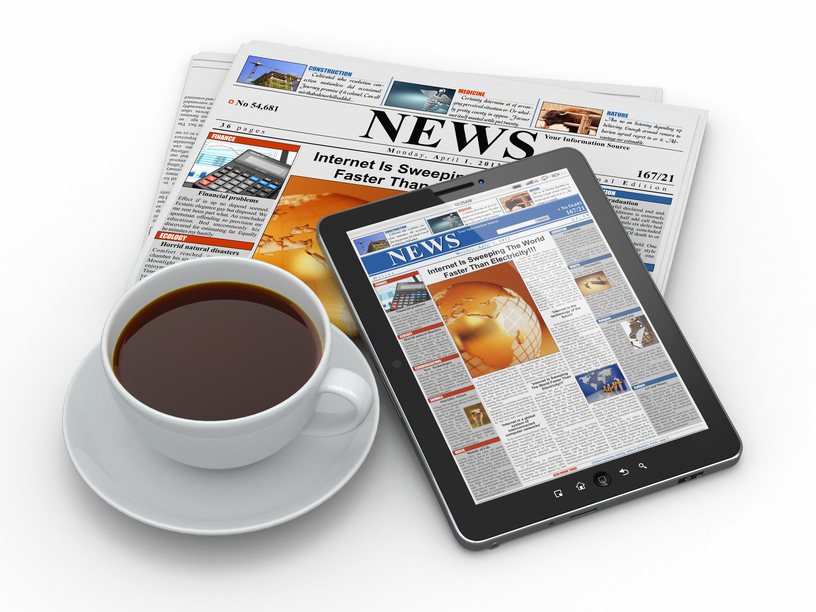 Print Newspaper Industry and Media Outlets Social Media
